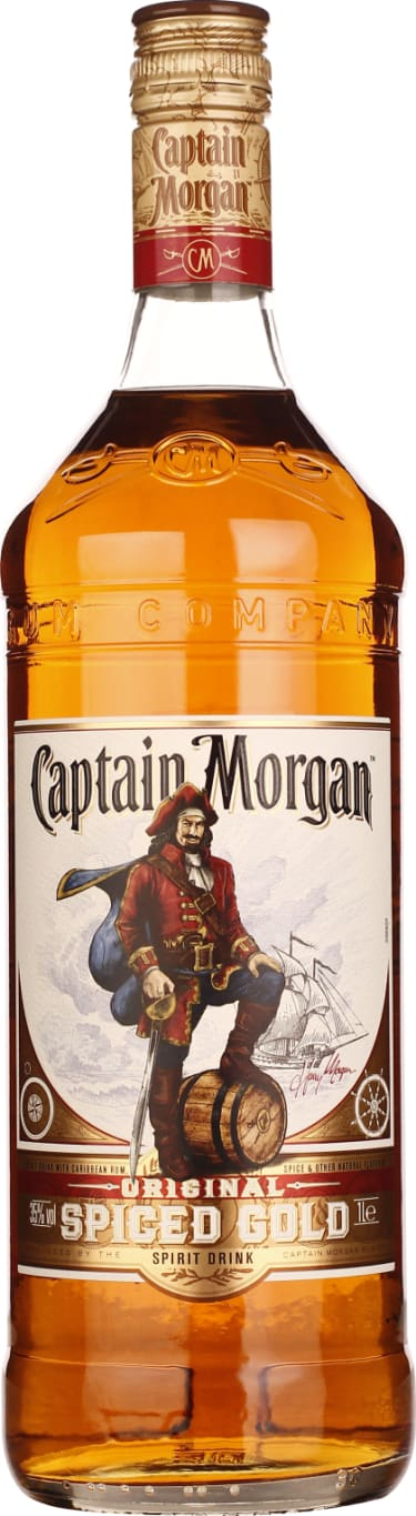 Captain Morgan Spiced Gold 1LTR - Aristo Spirits