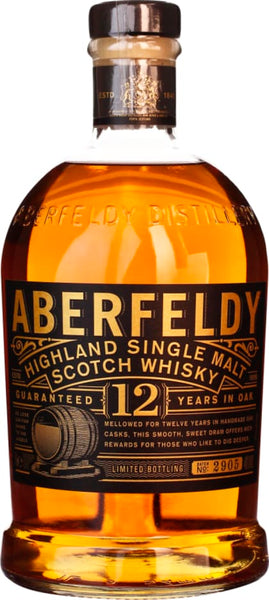 Aberfeldy Single Malt 12 years 1LTR - Aristo Spirits