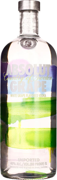 Absolut Grape 1LTR - Aristo Spirits