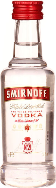 Smirnoff Vodka miniatures 12X5CL - Aristo Spirits