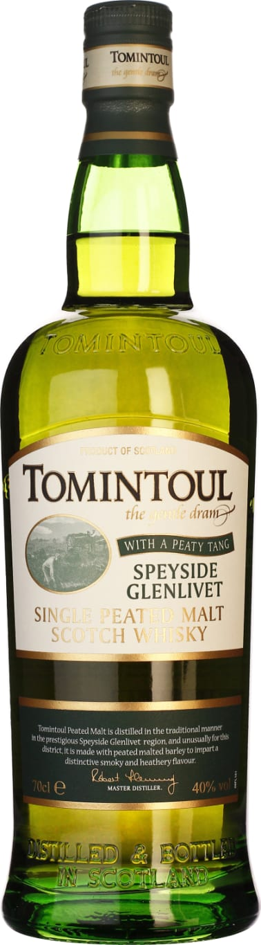 Single Tomintoul Peaty Tang 70CL - Aristo Spirits