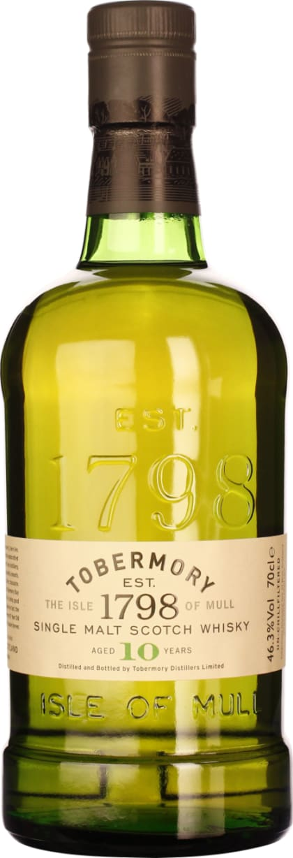 Tobermory Single Malt 10 years 70CL - Aristo Spirits