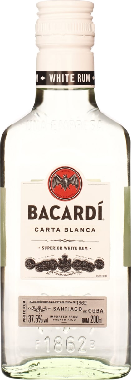 Bacardi Carta Blanca 20cl - Aristo Spirits