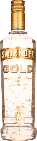 Smirnoff Vodka Gold - Cinnamon 70CL - Aristo Spirits