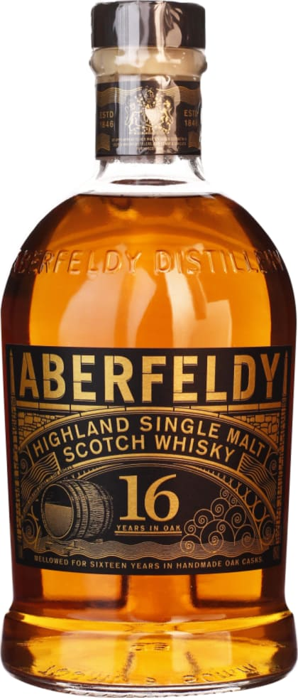 Aberfeldy 16 years Single Malt 70CL - Aristo Spirits