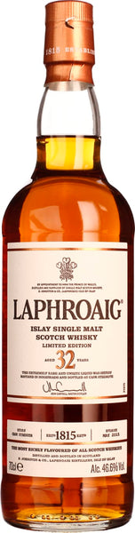 32 years Laphroaig Single Malt Limited Edition 70CL - Aristo Spirits