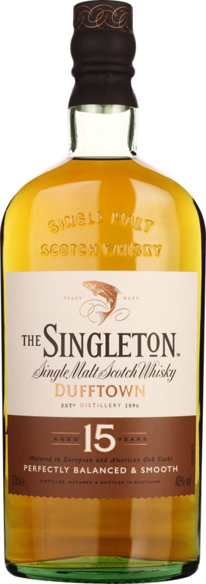 Singleton of Dufftown 15 years Single Malt 70CL - Aristo Spirits