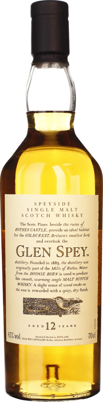 Glen Spey 12 years Single Malt 70CL - Aristo Spirits