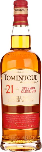 Tomintoul 21 years Single Malt 70CL - Aristo Spirits