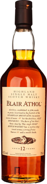Blair Athol 12 years 70CL - Aristo Spirits
