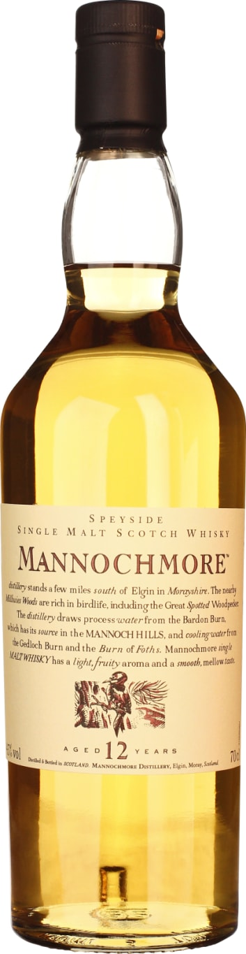 Mannochmore 12 years 70CL - Aristo Spirits