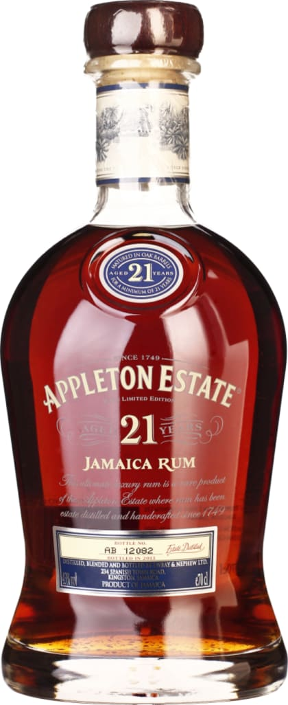 Appleton 21 years 70CL - Aristo Spirits