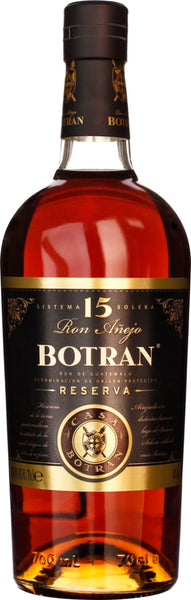 Botran Reserva Solera 15 years 70CL - Aristo Spirits