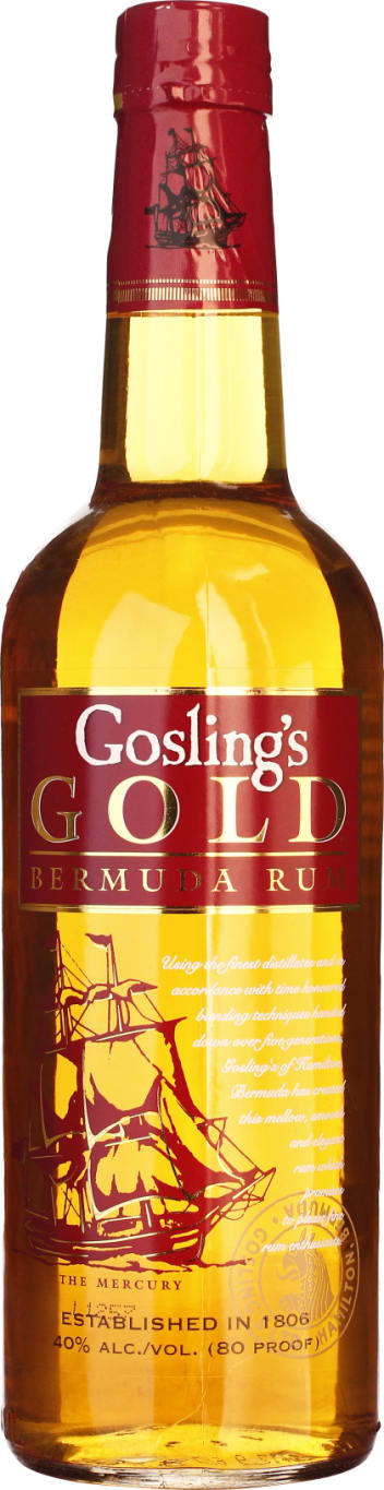 Gosling's Rum Gold 70CL - Aristo Spirits