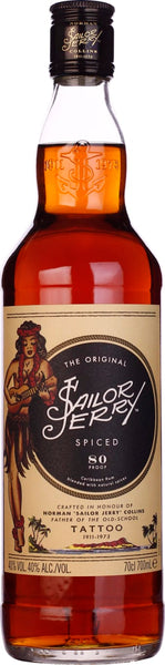 Sailor Jerry Spiced Rum 70CL - Aristo Spirits