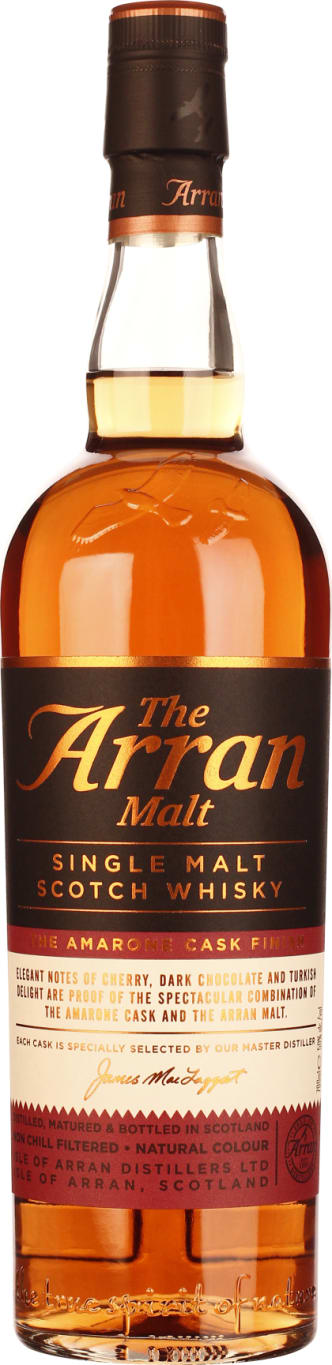 The 70CL Arran Amarone Cask Finish - Aristo Spirits