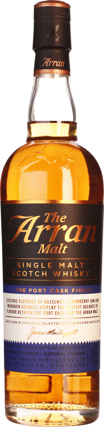 The 70CL Arran Port Cask Finish - Aristo Spirits