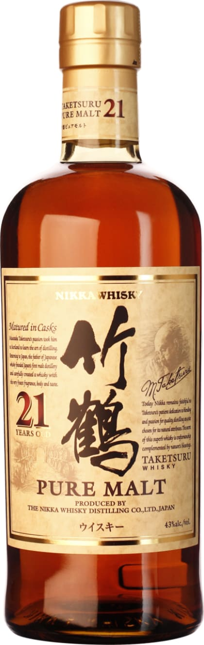 Nikka Taketsuru 21 years 70CL - Aristo Spirits