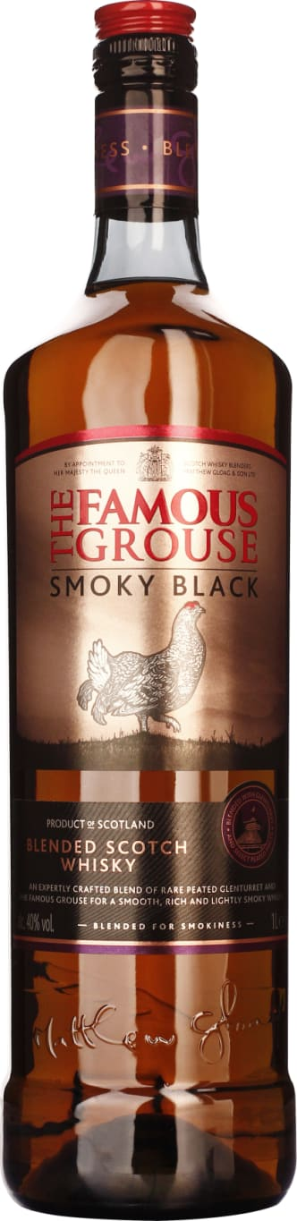 The Famous Grouse Smoky Black 1LTR - Aristo Spirits