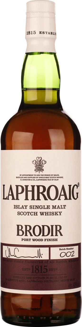 Laphroaig Brodir Port Wood Finish Batch 2 70CL - Aristo Spirits