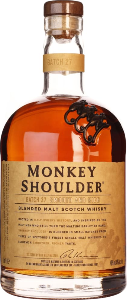 Monkey Shoulder 1LTR - Aristo Spirits