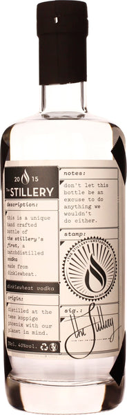 The Stillery's First Spelled Vodka 70CL - Aristo Spirits