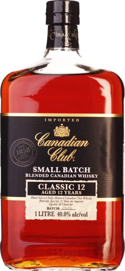 Canadian Club Classic 12 years 1LTR - Aristo Spirits