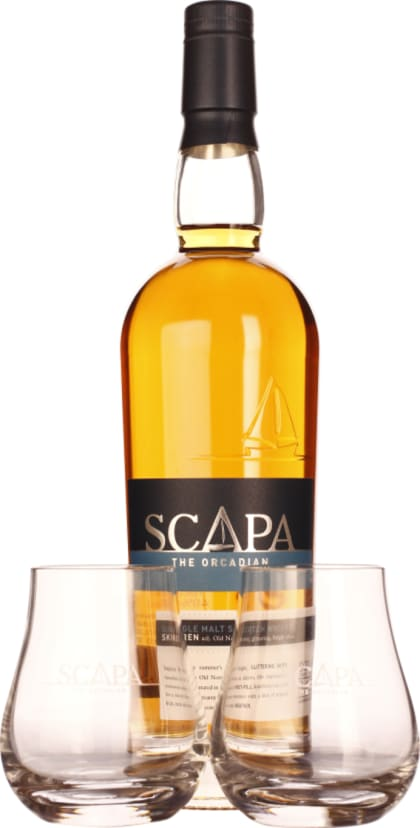 The Orcadian scirii Scapa Single Malt Giftset 70CL - Aristo Spirits