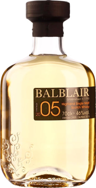 Balblair Vintage 2005 1st Release Single Malt 70CL - Aristo Spirits