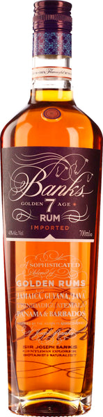 Banks 7 Golden Age Rum Blend 70CL - Aristo Spirits