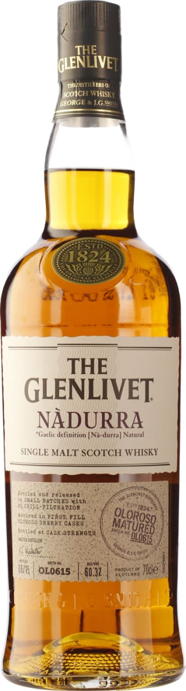 The Glenlivet Nadurra Oloroso Sherry Cask B # OL0615 70CL - Aristo Spirits