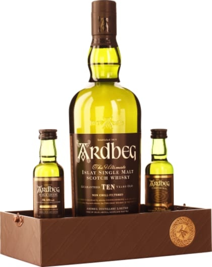 Exploration Pack Ardbeg Single Malt 10 years Giftset 80CL - Aristo Spirits