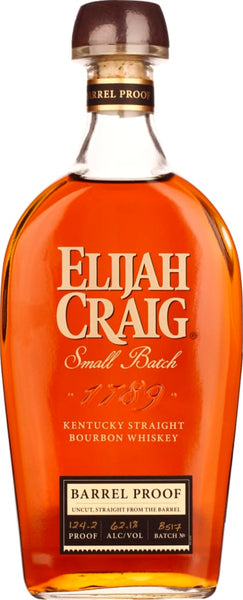 Elijah Craig 12 years Barrel proof 70CL - Aristo Spirits