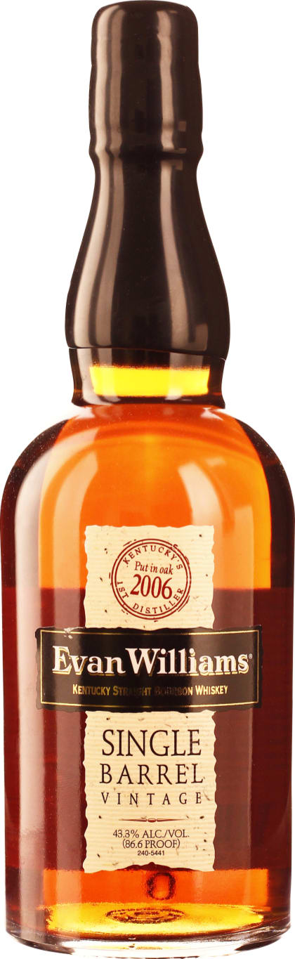 Evan Williams Single Barrel 2006 70CL - Aristo Spirits