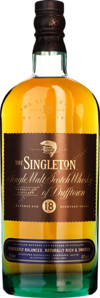 Singleton of Dufftown 18 years Single Malt 70CL - Aristo Spirits