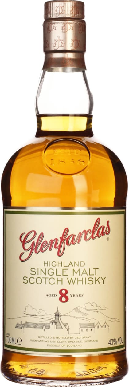 8 years Glenfarclas Single Malt 70CL - Aristo Spirits