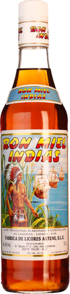 Ron Miel Indias Honingrum 70CL - Aristo Spirits