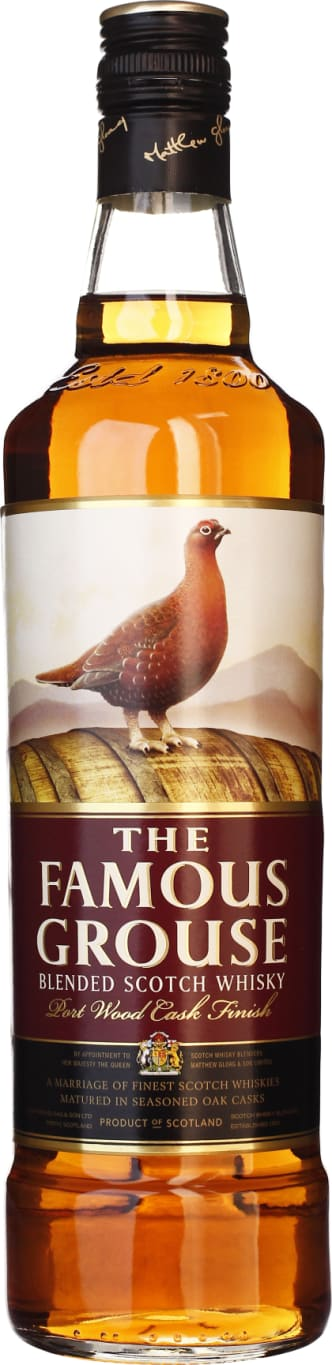 The Famous Grouse Port Wood Finish Cask 70CL - Aristo Spirits