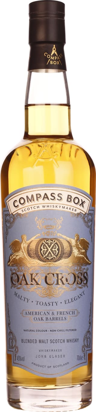 Compass Box Oak Cross 70CL - Aristo Spirits