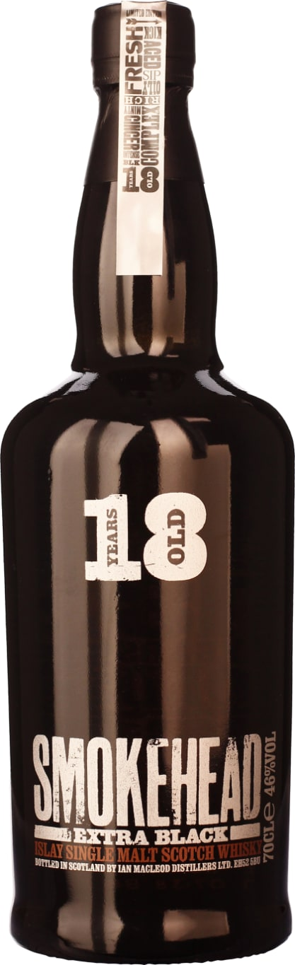 Smoke Head 18 years Extra Black 2016 70CL - Aristo Spirits