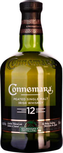 Connemara Irish Malt 12 years Peated 70CL - Aristo Spirits