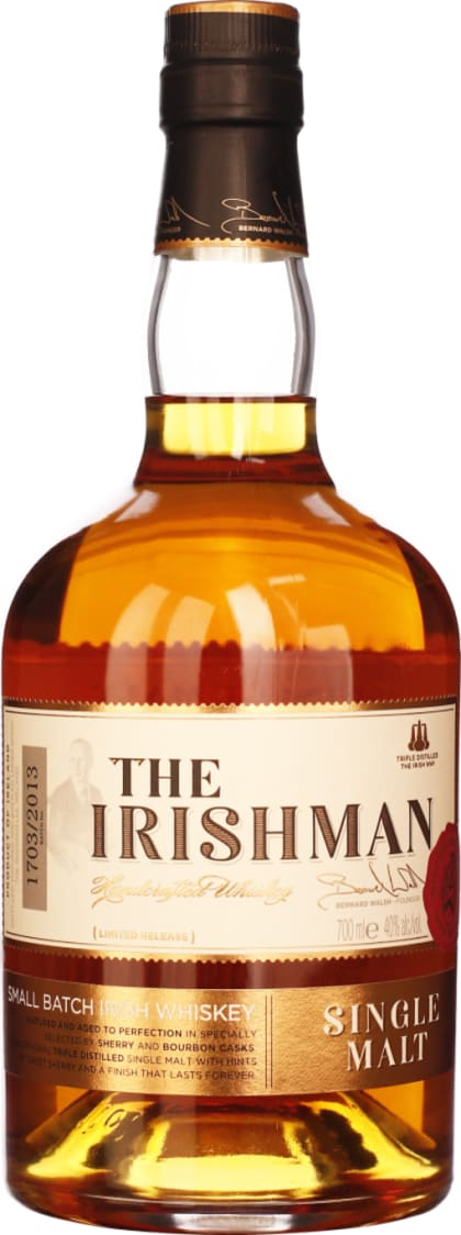 The Irishman Single Malt 70CL - Aristo Spirits