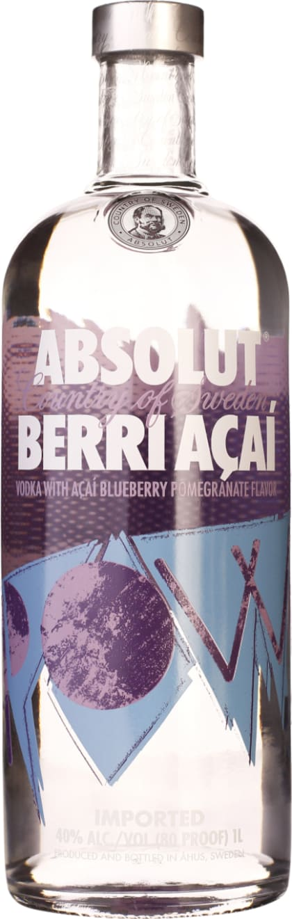 Absolut Berri Acai 1LTR - Aristo Spirits