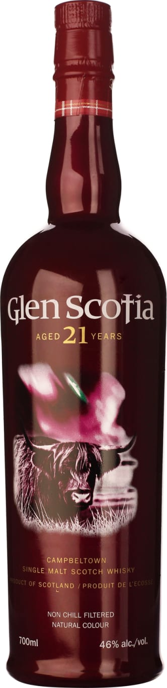 Glen Scotia 21 years Single Malt 70CL - Aristo Spirits