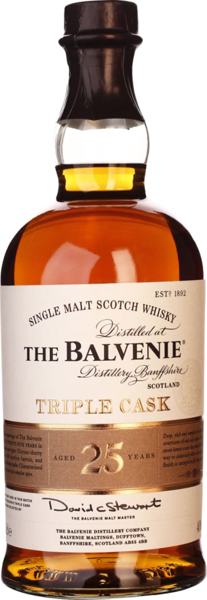 Balvenie 25 years Triple Cask 70CL - Aristo Spirits