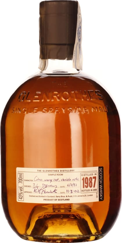 The Glenrothes Vintage 1987-2005 70CL - Aristo Spirits