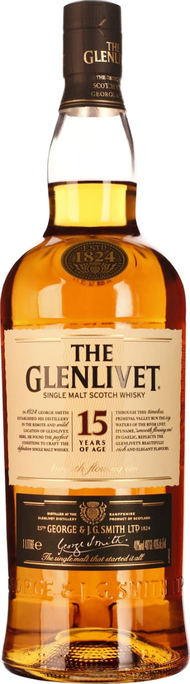 The Glenlivet 15 years 1LTR - Aristo Spirits