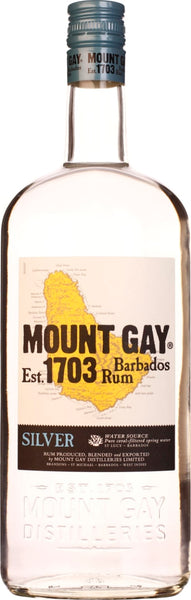 Mount Gay Rum Silver 1LTR - Aristo Spirits