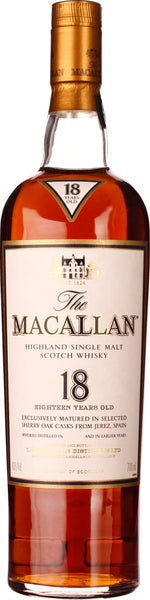 The Macallan Sherry Oak 18 years 70CL - Aristo Spirits