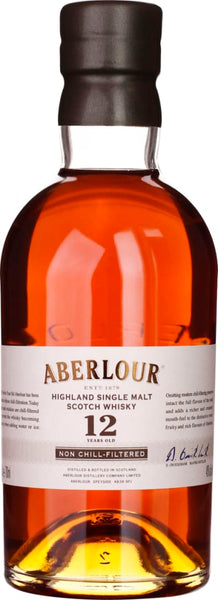 Aberlour 12 years non chill filtered 70CL - Aristo Spirits